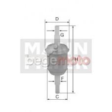 Топливный фильтр MANN WK31/2