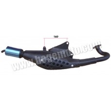 Выхлопная труба (глушитель) Suzuki Sepia ZZ 50cc SEE TW
