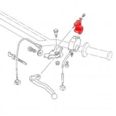 Хомут крепления ручки сцепления Yamaha TTR250 ORIGINAL