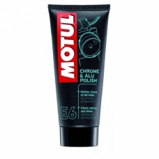 Кондиционер хрома MOTUL E6 CHROME & ALU POLISH (100мл)