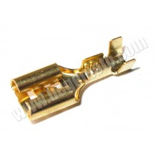 Клемма ножевая (мама) 6,3 мм