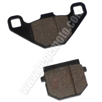 Колодки тормозные дисковые Suzuki Sepia DAYTONA 85x43x6,9/48x37x9,1
