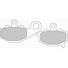 Колодки тормозные дисковые FERODO FDB2012P