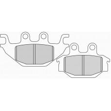 Колодки тормозные дисковые FERODO FDB2184SG