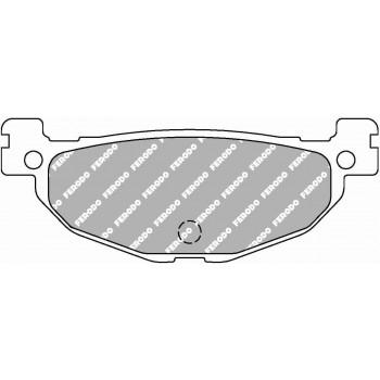 Колодки тормозные дисковые FERODO FDB2200P