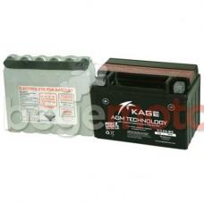 Аккумулятор свинцово-кислотный KAGE KGX9-BS