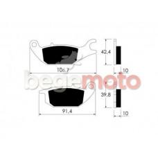 Колодки тормозные  дисковые VICMA P10761