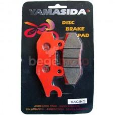 Колодки тормозные дисковые (RACING) Kymco Yamasida TW