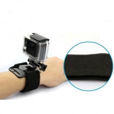 Крепление для экшн камеры на запястье (на резинке)