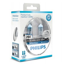 Комплект ламп PHILIPS WhiteVision 60/55W H4