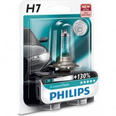 Лампа PHILIPS X-treme Vision +130% 55W H7