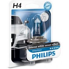 Лампа PHILIPS WhiteVision 60/55W H4