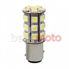 Лампа стоп сигнала светодиодная BAY15D (P21/5W) 27SMD