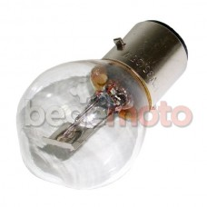Лампа передней фары BA20d/12V/25/25W прозрачная #1