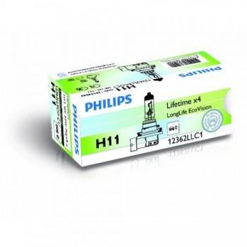Лампа PHILIPS ECOVISION 55W H11