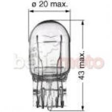 Лампа стопсигнала W21W/5W 12V (белая) TW