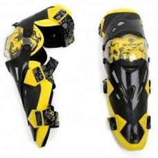 Наколенники (защита колена) Scoyco K12 Yellow/Black