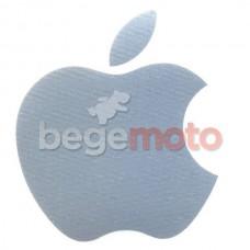 """Наклейка """"Apple"""" (серая)"""