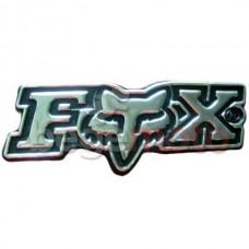 Наклейка Fox хром