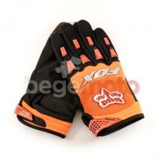 """Перчатки текстильные """"FOX Dirtpaw"""" (оранжевые)"""