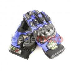 Перчатки защитные Pro-Biker & Monster Energy (синие)