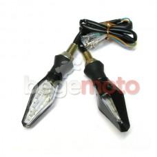 Поворотники светодиодные гибкие с габаритом