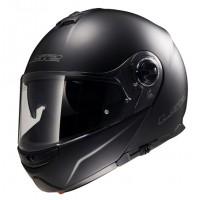 Шлем LS2 FF325 модуляр черный глянцевый