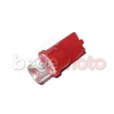 Светодиодная лампа T10 - красная