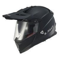 Шлем LS2 MX436 Enduro(с очками) черный матовый