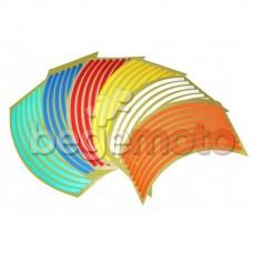 Светоотражающие полосы на колесные диски