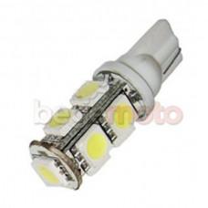 Светодиодная лампа T10 9SMD белая
