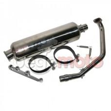 Выхлопная труба (глушитель) GY6 125-150сс VLAND TW
