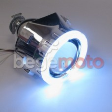 """Установочный комплект ксенона <Линза 65мм G5 c LED маской """"Angel Eye"""">"""