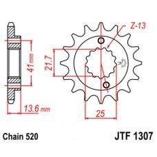 Звезда ведущая JTF1307 JT Sprockets