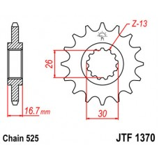 Звезда ведущая JTF1370 JT Sprockets