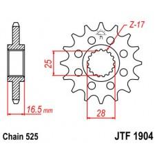 Звезда ведущая JTF1904 JT Sprockets