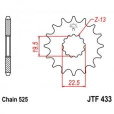 Звезда ведущая JTF433 JT Sprockets