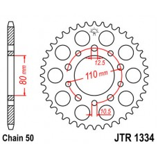 Звезда ведомая JTR1334 JT Sprockets