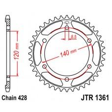 Звезда ведомая JTR1361 JT Sprockets