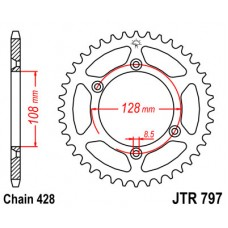 Звезда ведомая JTR797 JT Sprockets