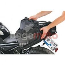 Комплект боковых сумок (текстиль, черные) LOUIS
