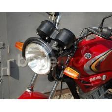 Крепление круглой фары с защитным бугелем для Yamaha YBR125
