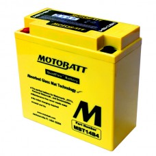 Аккумулятор свинцово-кислотный MBT14B4 Motobatt