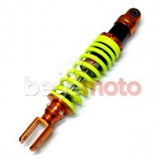 Амортизатор задний газомасляный NDT Honda/GY6 320mm (оранжево-лимонный)