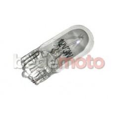 Лампа приборной панели Т10 W3W 12V прозрачная