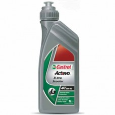 Масло моторное Castrol 4T Act>Evo X-tra Scooter 5W-40 (1 литр)