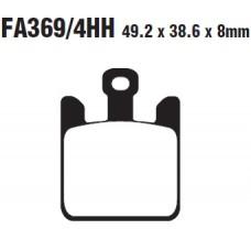 Колодки тормозные дисковые EBC FA369/4HH