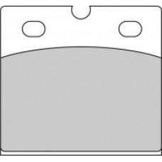 Колодки тормозные дисковые FERODO FDB108P