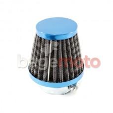 Фильтр нулевого сопротивления D=35мм BLUE