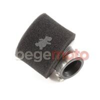 Фильтр нулевого сопротивления 38мм/45 градусов питбайк черный (поролон)